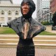 Ogawa monument vandalized during Oakland protest
