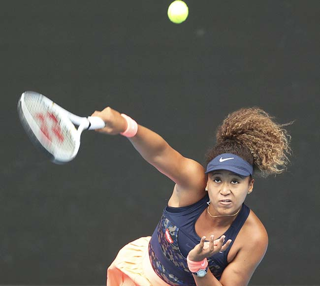 Osaka wins Australian, stays perfect in Slam finals