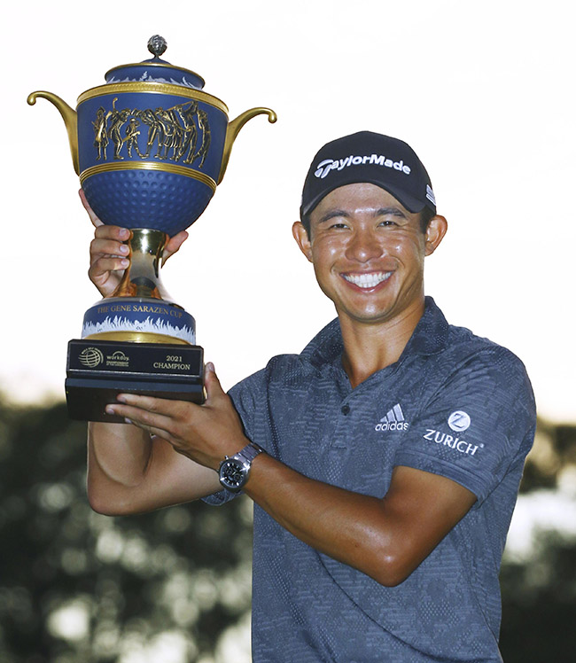 Morikawa plays a steady hand to win Workday Championship