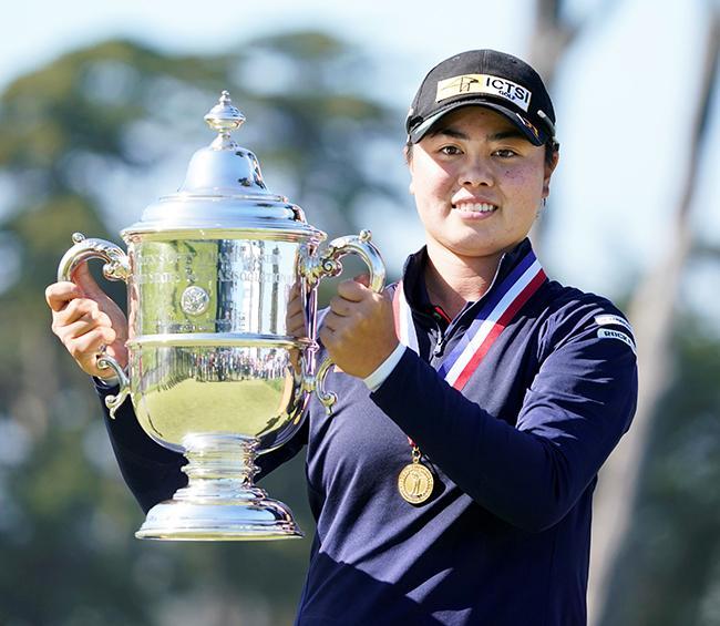 Filipino-Japanese teen Saso wins U.S. Women's Open