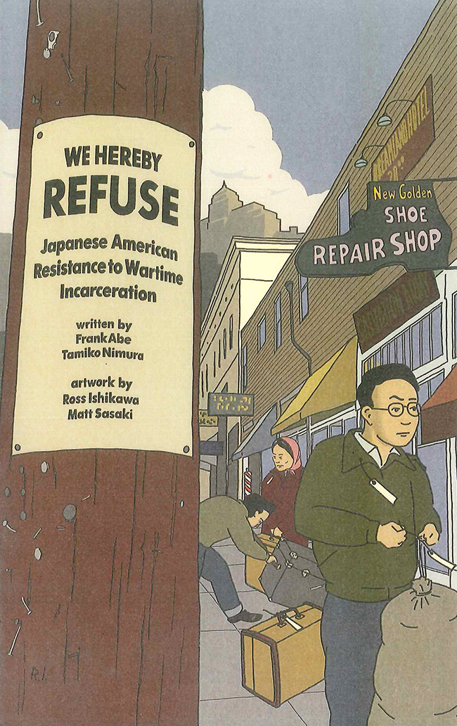 Graphic novel documents acts of resistance
